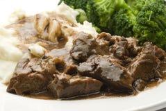 овощи жаркого бака говядины Стоковое Изображение RF