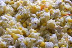 овощи зажаренные цыпленком Стоковая Фотография RF