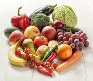 Овощи и плодоовощи фото еды Стоковые Фото