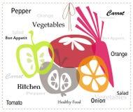 Овощи и плодоовощи Стоковые Изображения
