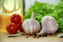 Овощи и специи Стоковые Изображения RF