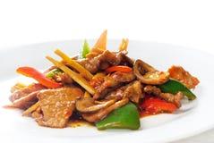 овощи китайца говядины Стоковая Фотография