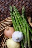 овощи корзины свежие Стоковое Изображение RF