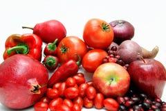 овощи красного цвета плодоовощ Стоковые Изображения