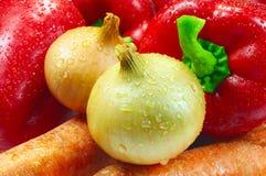 овощи крупного плана Стоковые Изображения RF