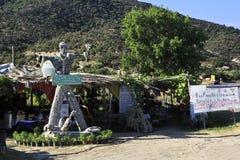 Овощи магазина обочины органические Стоковое Изображение