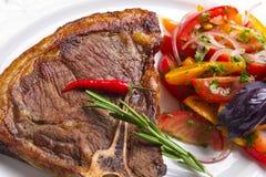 овощи мяса крупного плана Стоковое Изображение RF