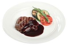 овощи мяса Стоковая Фотография