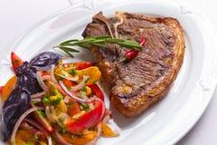 овощи мяса Стоковая Фотография RF