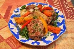 овощи мяса Стоковое Изображение