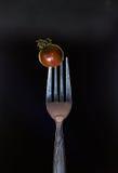 Овощи на вилке Стоковое Изображение RF