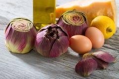 Овощи на деревянной таблице стоковые фото