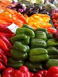 Овощи на рынке хуторянин Стоковые Изображения