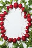 овощи овала рамки Стоковое Фото