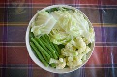 овощи плиты Стоковая Фотография