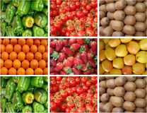 овощи плодоовощей Стоковые Изображения RF