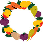 овощи плодоовощ рамки Стоковые Фотографии RF