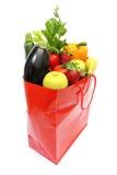 овощи покупкы мешка Стоковое фото RF