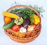 Овощи предпосылки натуральных продуктов Стоковые Фотографии RF