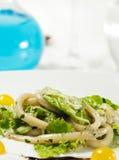 овощи продуктов моря салата Стоковое Изображение