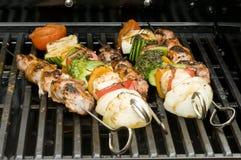 овощи протыкальника мяса Стоковые Фотографии RF