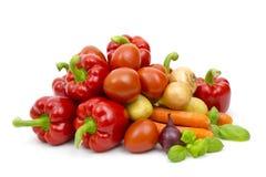 овощи продуктов свежего рынка земледелия Стоковое фото RF