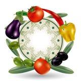 овощи рамки Стоковая Фотография