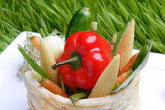 овощи решетки еды Стоковое Изображение RF