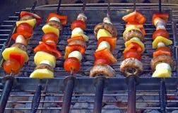 овощи решетки Стоковое фото RF