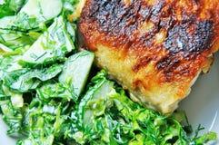 овощи рыб Стоковая Фотография RF