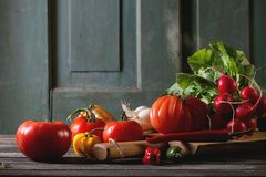 овощи рынка вороха фарфора Стоковая Фотография RF