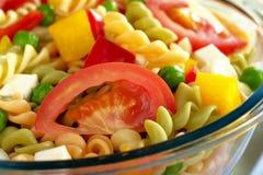 овощи салата макаронных изделия сыра Стоковое Изображение