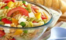 овощи салата макаронных изделия Стоковые Фотографии RF