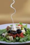 овощи салата feta сыра свежие Стоковые Изображения