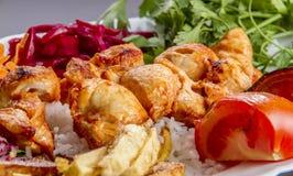 овощи свежего мяса стоковые фотографии rf