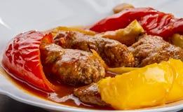 овощи свежего мяса стоковое фото