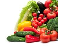Овощи собрания Стоковое Изображение