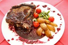 овощи соуса мяса Стоковое фото RF