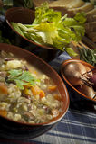 овощи супа minestrone Стоковое Изображение RF