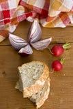 овощи таблицы деревянные Стоковые Фотографии RF