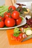 овощи томатов Стоковое фото RF