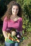 овощи удерживания Стоковая Фотография RF