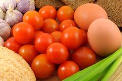 овощи хлеба Стоковые Фотографии RF