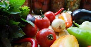Овощи для консервации Стоковое Изображение RF