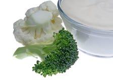 овощи dip Стоковые Фото
