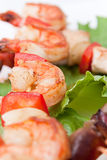 овощи kebab Стоковое фото RF