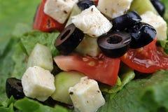 овощи salat feta сыра свежие Стоковое Фото