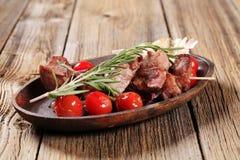 овощи shish kebab Стоковое Изображение RF