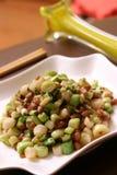 овощи shredded свининой Стоковое Фото