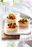овощи tartlets Стоковое Изображение RF